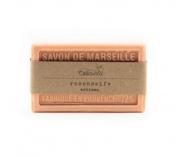 "Natur-Seife Rose ""Savon de Marseille"" 100g (Kernseife)"