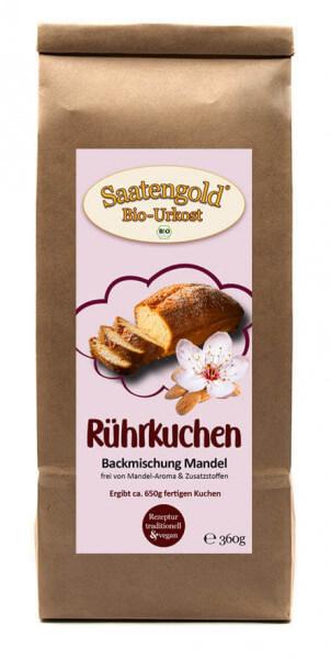 Mandelkuchen Backmischung (Bio) Ur-Dinkel hell 360g