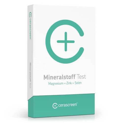 Mineralstoff Test (Magnesium + Zink + Selen) - schnell und bequem zu Hause durchführen