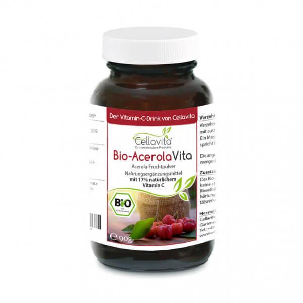 Acerola Vita (Der Vitamin-C-Drink) 90g Pulver
