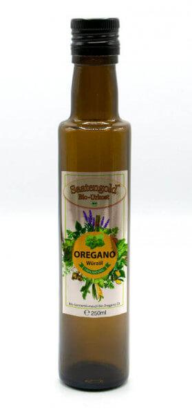 Saatengold-Bio-Würzöl Oregano 250ml