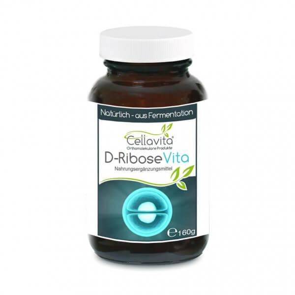 D-Ribose Vita Pulver 160g im Glas
