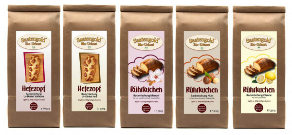 Kuchen Backmischung (Bio)   5 verschiedene Kuchenbackmischungen