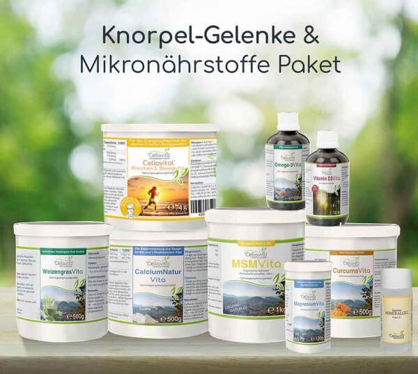 Das Knorpel-Gelenke & Mikronährstoffe Paket