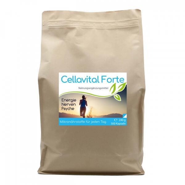 Cellavital® Forte | Multi-Synergie für jeden Tag - 500 Kapseln im Vorratsbeutel