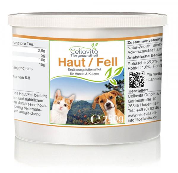 Tiergesundheit Haut / Fell - 250g für Hunde & Katzen