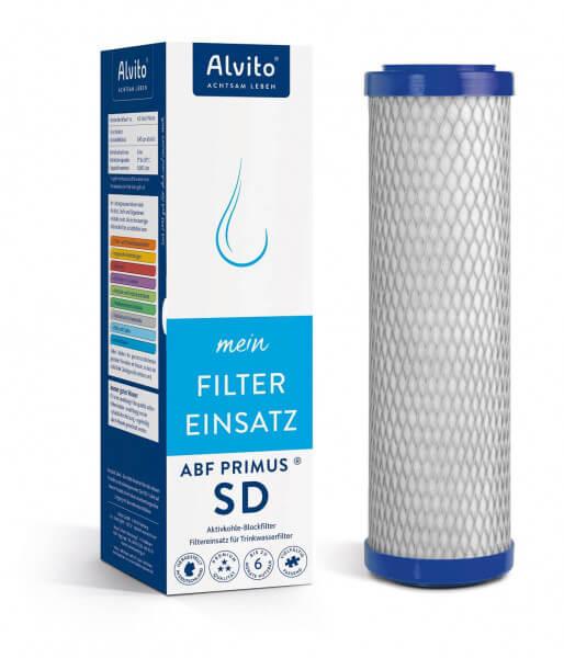 "Alvito Filterkartusche Aktivkohlefilter ABF Primus® SD ""blau"""