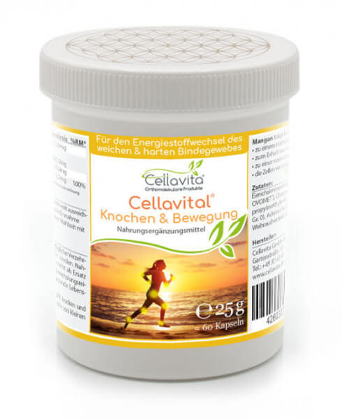 Cellavital® Knochen & Bewegung - Monatsvorrat - 60 Kapseln