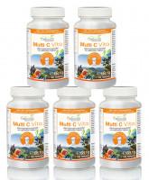 Multi C Vita Vorteilspaket 5 x 180 Tabletten | Rezeptur nach Dr. med. M. Doepp