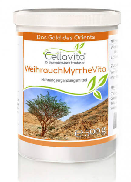 Weihrauch-Myrrhe Vita 4-Monatsvorrat - 500g