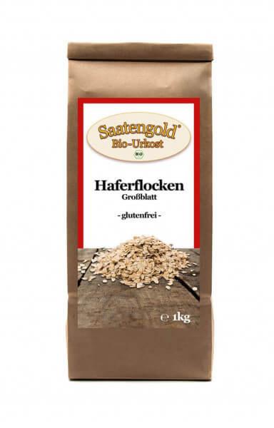 Bio-Haferflocken glutenfrei Großblatt 500g
