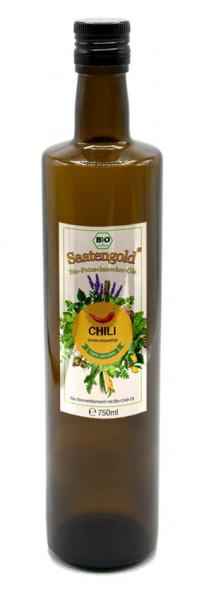 Saatengold-Bio-Feinschmecker-Öle Chili 750ml