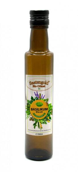 Saatengold-Bio-Würzöl Basilikum 250ml