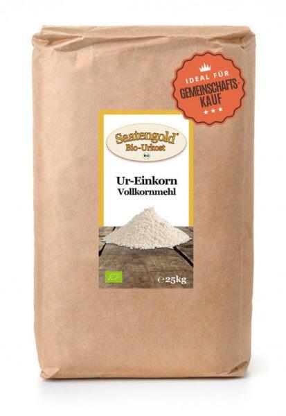 Einkorn Vollkornmehl (Bio) 25kg Sack