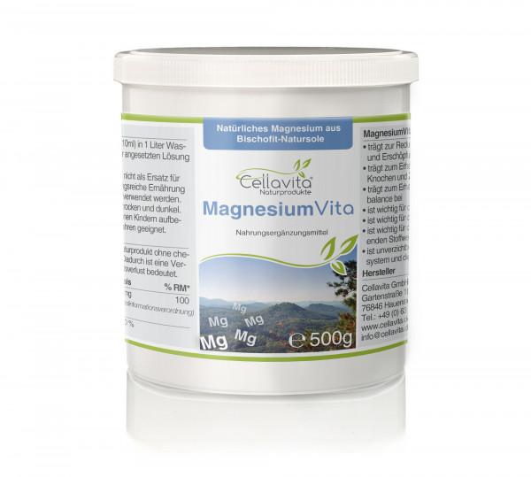 Magnesium Vita (100%) - 500g Dose
