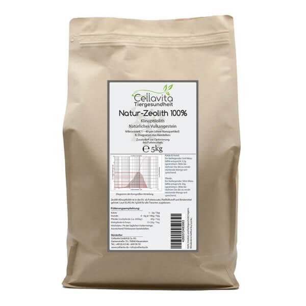 Zeolith - 5,0kg für Tiere (Pferde, Hunde & Katzen)