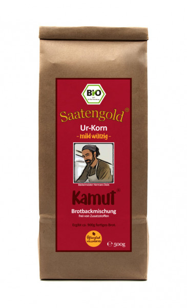 Mehl-Brotbackmischung (Bio) Kamut mild/würzig 500g