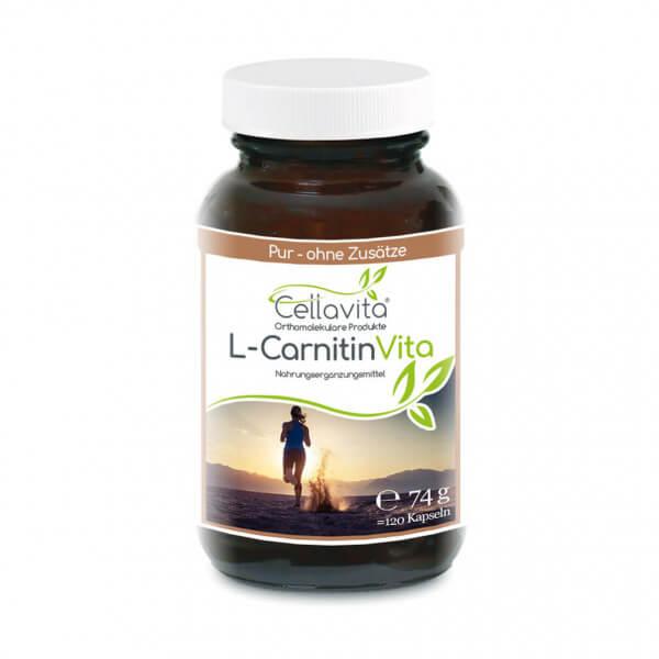L-Carnitin Vita 120 Kapseln im Glas