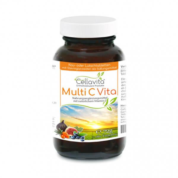 Multi C Vita 180 Tabletten im Glas