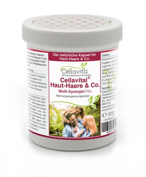 Cellavital Haut-Haare & Co. - Monatsvorrat - 60 Kapseln