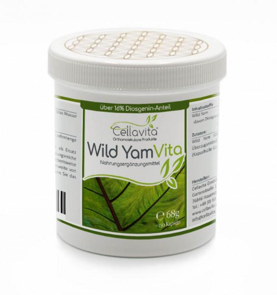 Wild Yam Vita (Yamswurzel) 150 Kapseln