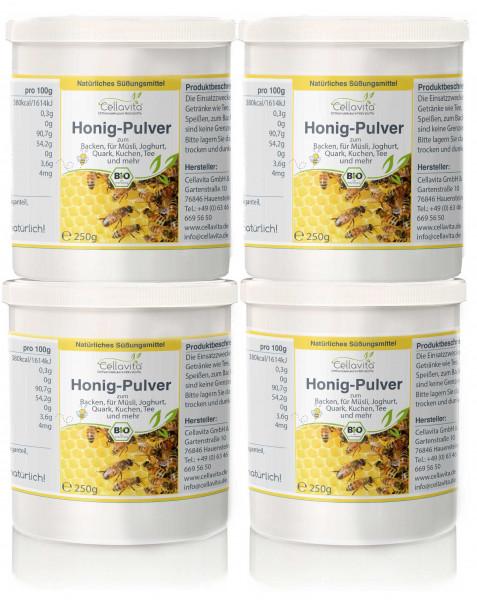 Honig-Pulver (Bio) Vorteilspaket 4 x 250g