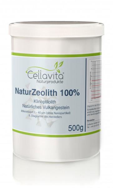 Natur-Zeolith (100%) - Klinoptilolith - 500g