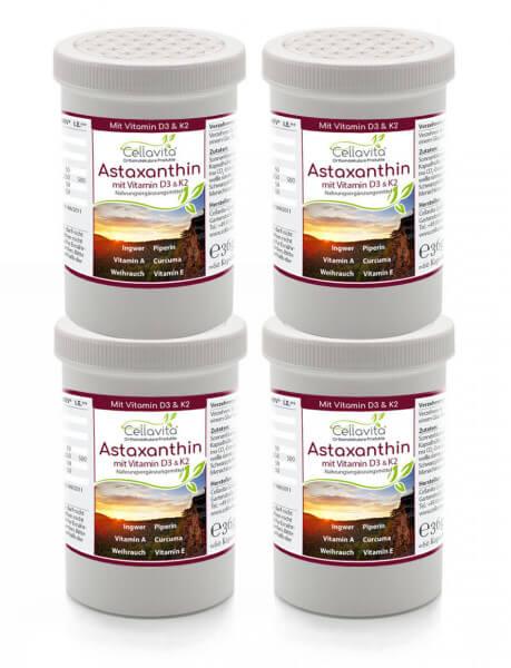 Astaxanthin Vita 4x 60 Kapseln Vorteilspaket