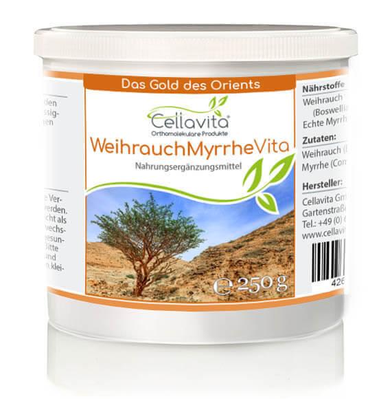 Weihrauch-Myrrhe Vita 2-Monatsvorrat - 250g