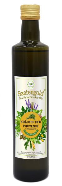 Saatengold-Bio-Feinschmecker-Öle Kräuter der Provence 500ml
