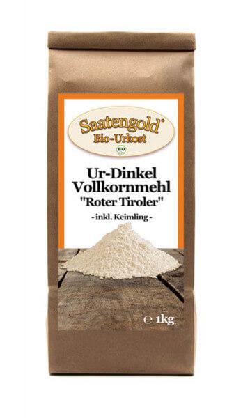 Ur-Dinkel-Vollkornmehl (Bio) 1kg Beutel