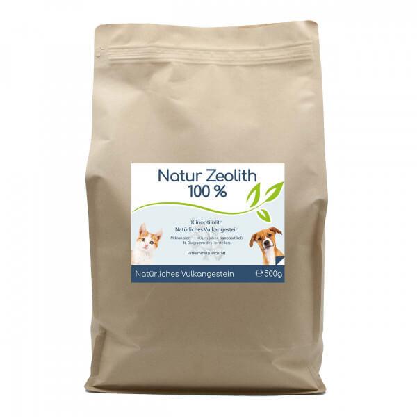 Zeolith - 500g für Hunde & Katze