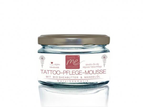 Tattoo-Pflege-Mousse spezial 100ml vegane Naturkosmetik by Thats me Organic®