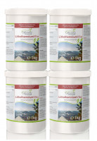 LithothamniumVita (100 % Rotalge) Vorsorgepaket 4 x 1 kg
