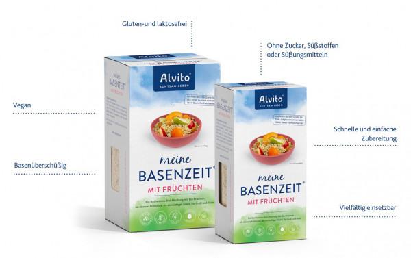 Alvito meine BasenZeit® Das gesunde Frühstück für den basischen Alltag: 400g