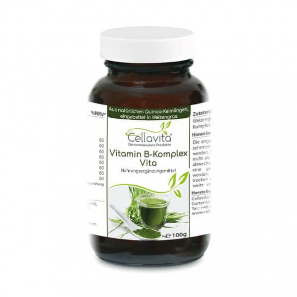 Vitamin B-Komplex Vita 50-Tagesvorrat 100g im Glas