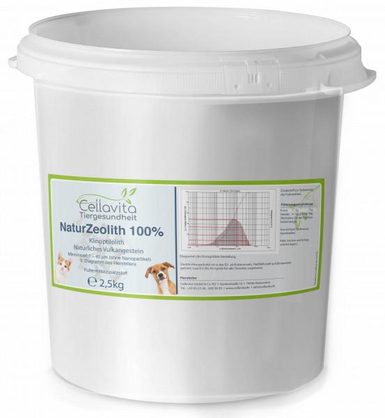 Zeolith - 2,5kg für Hunde & Katze