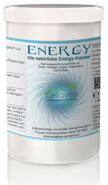 Energy - Die natürliche Energie-Kapsel | 60 Kapseln