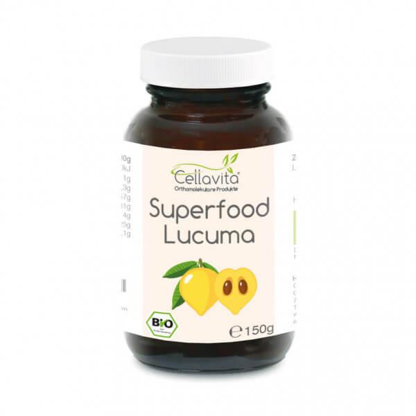 Superfood Lucuma bio Pulver 150g im Glas